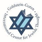 Jewish Thought Journal of the Goldstein-Goren International Center for Jewish Thought Editors Michal Bar-Asher Siegal Jonatan