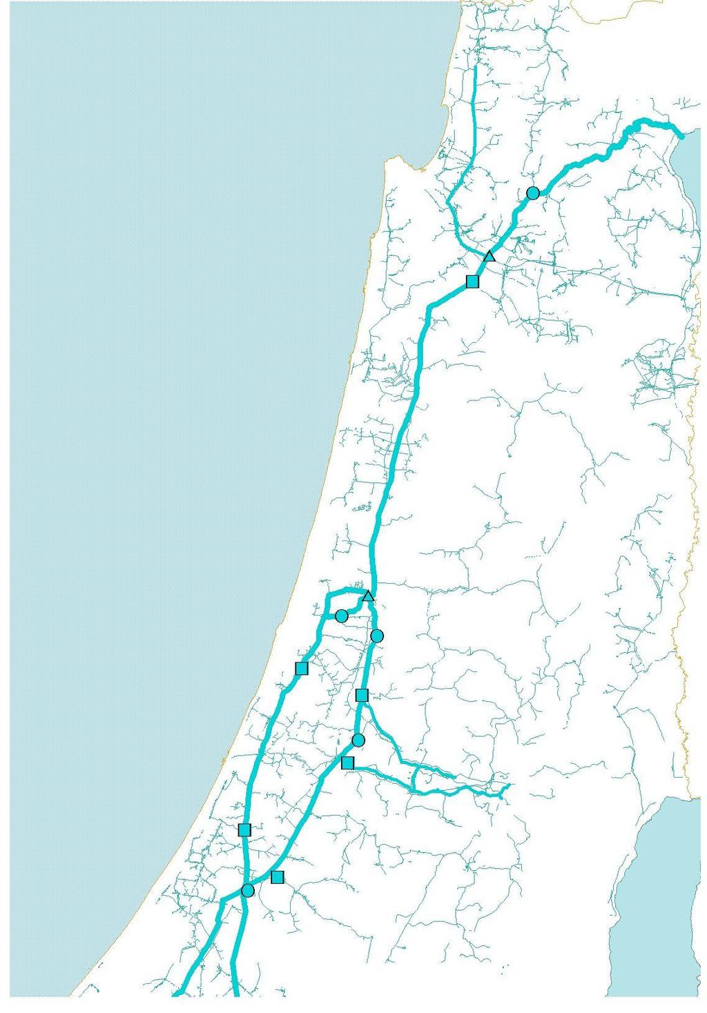 Mediterranean seawater desalination capacity 2016 570 Mm 3 /yr Haifa Operating since